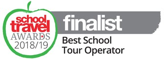 Finalist Best School Tour Operator 2018 2019