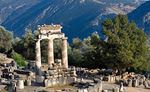 Athena sanctuary at Delphi