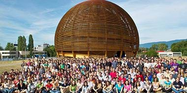 CERN exhibition dome
