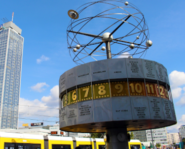 World Clock Alexanderplatz