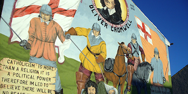 Belfast Oliver Cromwell Mural